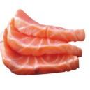 Sahimi saumon mi-cuit