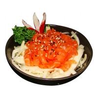 Salade de choux saumon
